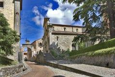 Di Santa María del castello de Chiesa Fotos de archivo libres de regalías