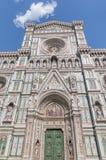 Di Santa María del Fiore de la basílica en Florencia Imagen de archivo libre de regalías