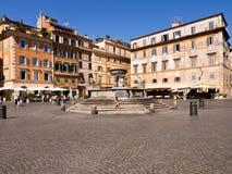 Di Santa María Roma Italia de la plaza Fotografía de archivo libre de regalías