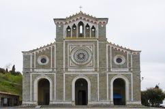Di Santa Margherita della basilica in Cortona, Italia Fotografia Stock