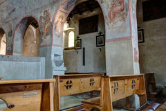 Di Santa Maria Assunta da basílica, Muggia Foto de Stock Royalty Free