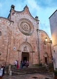 Di Santa Maria Assunta de Minore Concattedrale de basilique Ostuni, Apulia, Italie photos stock
