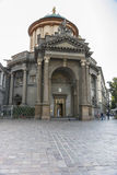 Di Santa Maria, Bérgamo, Italia de la iglesia Imagenes de archivo