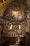 Di Santa Maria da basílica em Trastevere Imagem de Stock Royalty Free