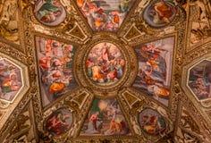 Di Santa Maria de basilique dans Trastevere, Rome, Italie Photo stock