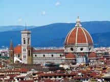 Di Santa Maria del Fiore базилики собора Флоренса Стоковая Фотография