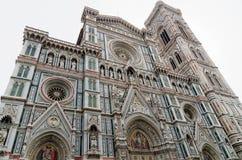 Di Santa Maria del Fiore Catedrala, башня Giotto - Duomo Firenze, Италия Стоковое фото RF