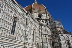 Di Santa Maria del fiore di Cattedrale a Firenze, Italia fotografie stock libere da diritti