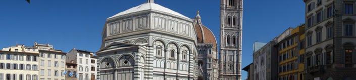 Di Santa Maria del fiore di Cattedrale a Firenze, Italia fotografie stock