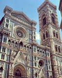 Di Santa Maria del Fiore de Cattedrale fotos de stock