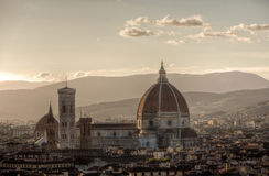 Di Santa Maria del Fiore de Domo Cathedrale di Basílica, Florença, Firenze, Toscany, Itália Foto de Stock