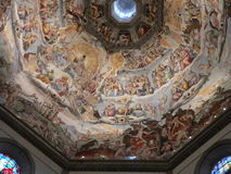 Di Santa Maria del Fiore, Firenze (Italie de Duomo Images stock