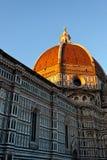 Di Santa Maria del Fiore Florence Firenze Tuscany Italia de la basílica del Duomo fotos de archivo