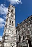 Di Santa Maria del Fiore Florence Firenze Tuscany Italia della basilica del campanile del duomo Fotografie Stock Libere da Diritti