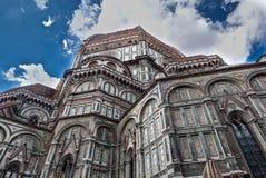 Di Santa Maria del Fiore Florence Firenze Tuscany Italie de basilique de Duomo Image libre de droits