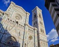 Di Santa Maria del Fiore, Florence, Italie de basilique Image libre de droits