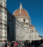 Di Santa Maria del Fiore, Florencia de Cathedrale Imagenes de archivo