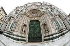 Di Santa Maria del Fiore, tour de Giotto - Duomo de Firenze, Italie de Catedrala Photographie stock libre de droits