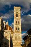 Di Santa Maria del Fiore Tower de Florence Cathedral ou de Cattedrale Photo libre de droits