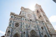 Di Santa Maria del Fiore van Cattedrale Royalty-vrije Stock Foto