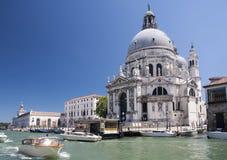 Di Santa Maria della Salute, Venecia de la basílica Fotos de archivo