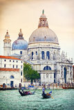 Di Santa Maria della Salute, Venecia, Italia de la basílica Fotografía de archivo libre de regalías
