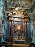 Di Santa Maria Maggiore, costruzione, altare, trono della basilica, sicuro Fotografia Stock Libera da Diritti
