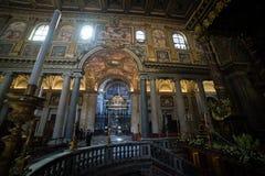 Di Santa Maria Maggiore da basílica Fotografia de Stock
