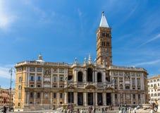 Di Santa Maria Maggiore de la basílica en Roma, Italia Imagen de archivo