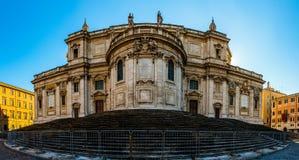 Di Santa Maria Maggiore de la basílica en Roma, Italia foto de archivo libre de regalías