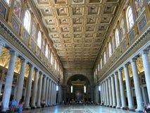 Di Santa Maria Maggiore, Roma de la basílica Fotos de archivo libres de regalías