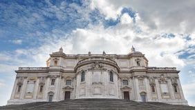 Di Santa Maria Maggiore van de basiliek in Rome Stock Foto