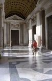 Di Santa Maria Maggiore van de Basiliek in Rome Stock Foto's