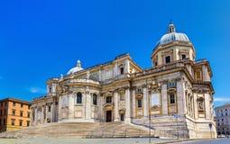 Di Santa Maria Maggiore van de basiliek in Rome royalty-vrije stock foto's