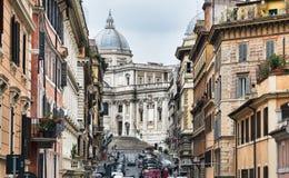 Di Santa Maria, Roma della basilica fotografia stock