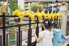 Di sei giorni dopo l'esplosione della bomba nell'intersezione di Ratchaprasong su Au Fotografia Stock Libera da Diritti