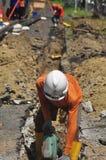 Di Semarang de Bumi do gás de Infrastruktur Imagem de Stock