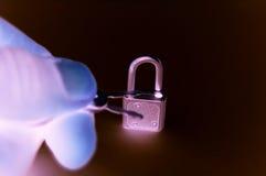 Di sfida serratura ugualmente esso! fotografia stock