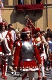 Di Siena de Palio - em julho de 2003 Fotografia de Stock Royalty Free