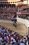 Di Siena de Palio - julio de 2003 Fotos de archivo libres de regalías