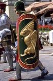 Di Siena de Palio - julio de 2003 Imágenes de archivo libres de regalías