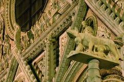 Di Siena del Duomo Immagine Stock Libera da Diritti
