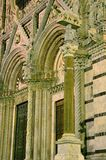 Di Siena del Duomo Fotografia Stock