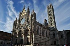 Di Siena del Duomo Imagen de archivo