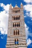 Di Siena van Siena Cathedral Santa Maria Assunta /Duomo in Siena Stock Afbeeldingen