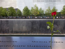 9/11 di sosta commemorativa Immagine Stock