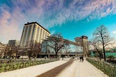 ` Di Stadtpark del ` la città Central Park di Vienna Immagini Stock