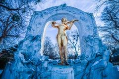 ` Di Stadtpark del ` la città Central Park di Vienna Immagini Stock Libere da Diritti