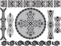 Di stile celtico tradizionale Fotografia Stock