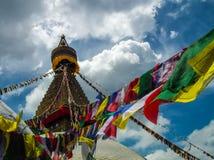 ¹ di Stupa Kathmandà Immagine Stock Libera da Diritti